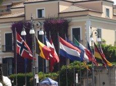 flagi różnych państw europejskich