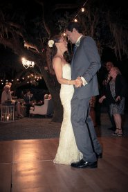 para na parkiecie - wesele