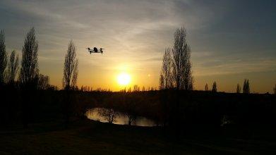 filmowanie dronem miasta