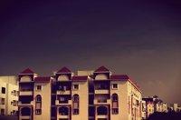osiedle z nowymi mieszkaniami